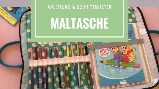 Maltasche - Anleitung und Schnittmuster