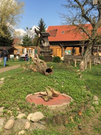 Hof des Kinderbauernhofs Mümmelmann