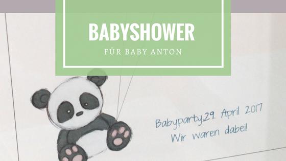 Babyshower für Baby Anton
