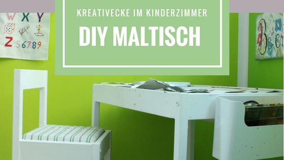 MamaBlog - DIY Maltisch und Kreativecke