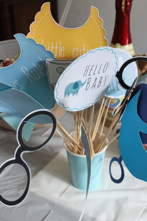 Babyshower Photo Booth Props