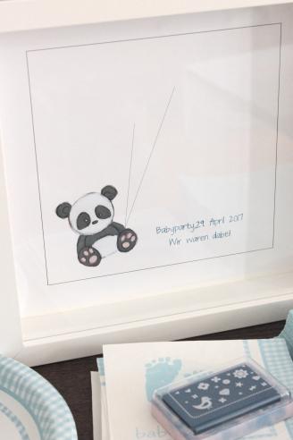 Babyshower Gästebuch