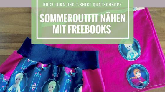 Freebook Sommeroutfit Mädchen