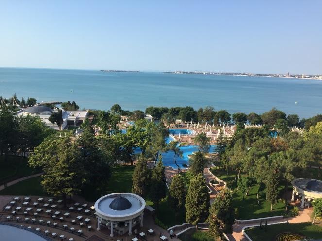 Aussicht aus unserem Zimmer, Clubhotel RIU Hotel Helios Paradise