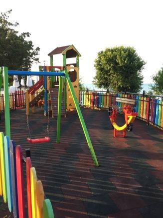 Spielplatz im RIU Helios Paradise, Bulgarien